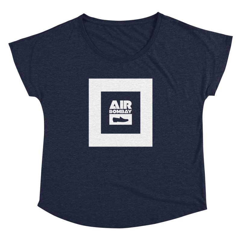 The Air Bombay | Dark Women's Dolman Scoop Neck by The Quack Attack