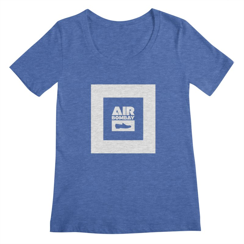 The Air Bombay | Dark Women's Scoopneck by The Quack Attack
