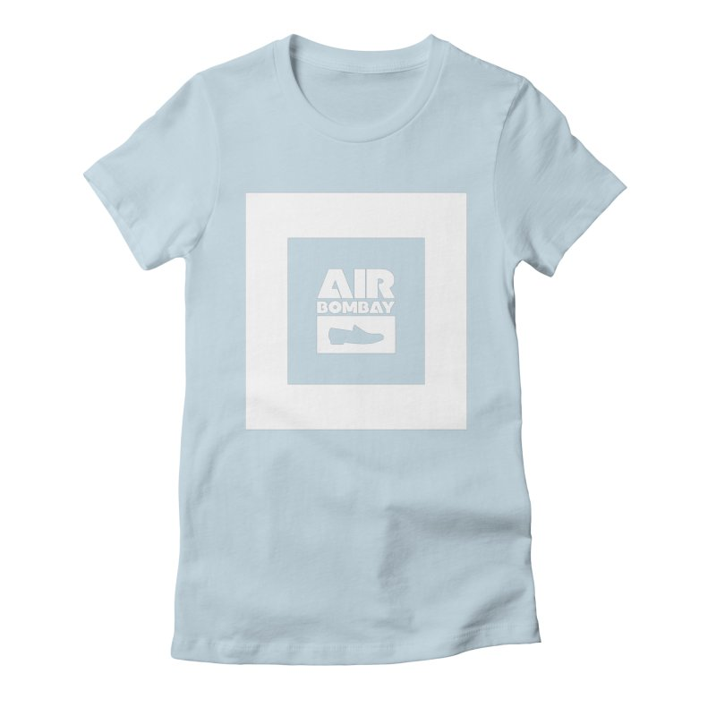 The Air Bombay   Dark Women's Fitted T-Shirt by The Quack Attack
