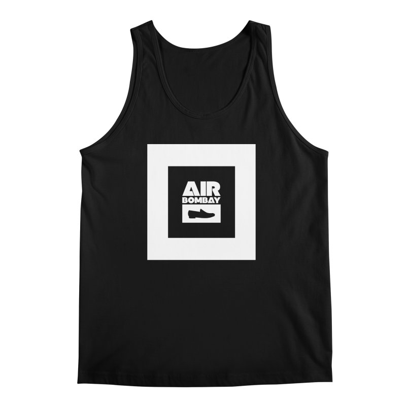 The Air Bombay | Dark Men's Tank by The Quack Attack