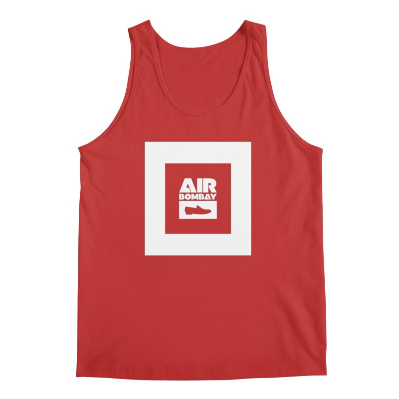 The Air Bombay   Dark Men's Tank by The Quack Attack