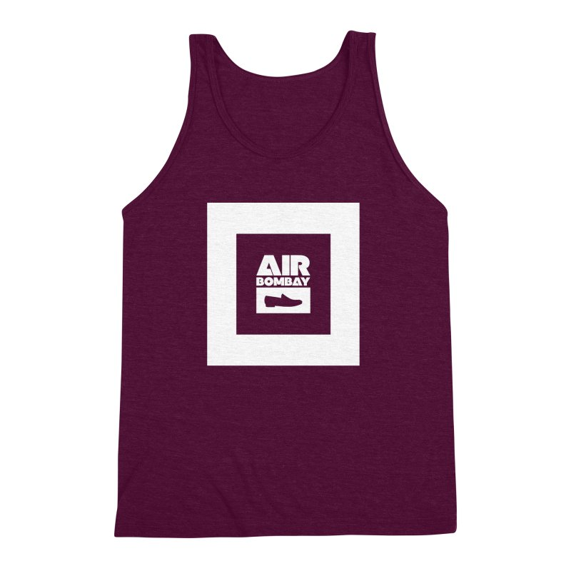 The Air Bombay | Dark Men's Triblend Tank by The Quack Attack