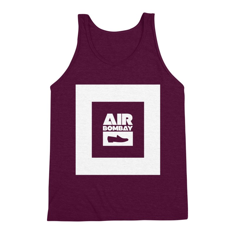 The Air Bombay   Dark Men's Triblend Tank by The Quack Attack
