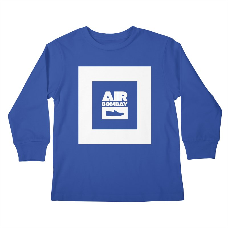 The Air Bombay   Dark Kids Longsleeve T-Shirt by The Quack Attack
