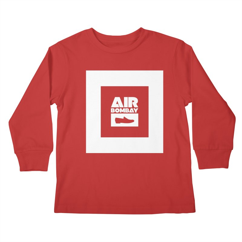 The Air Bombay | Dark Kids Longsleeve T-Shirt by The Quack Attack