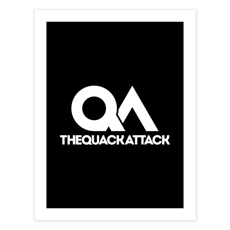 The Quack Attack Home Fine Art Print by The Quack Attack