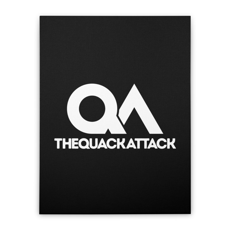 The Quack Attack Home Stretched Canvas by The Quack Attack