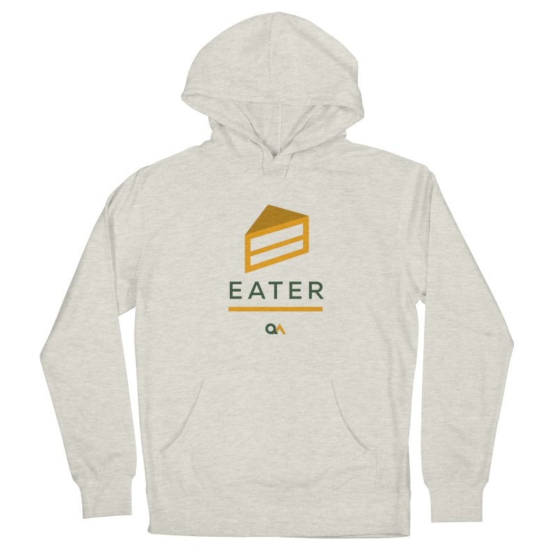 The Cake Eater | Light Men's Pullover Hoody by The Quack Attack