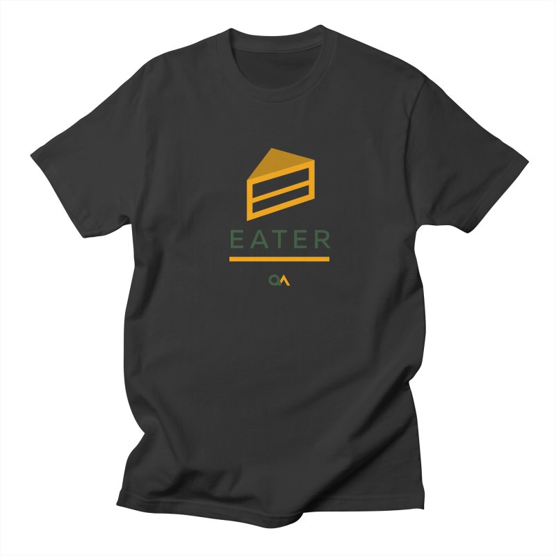 The Cake Eater   Light Men's T-Shirt by The Quack Attack