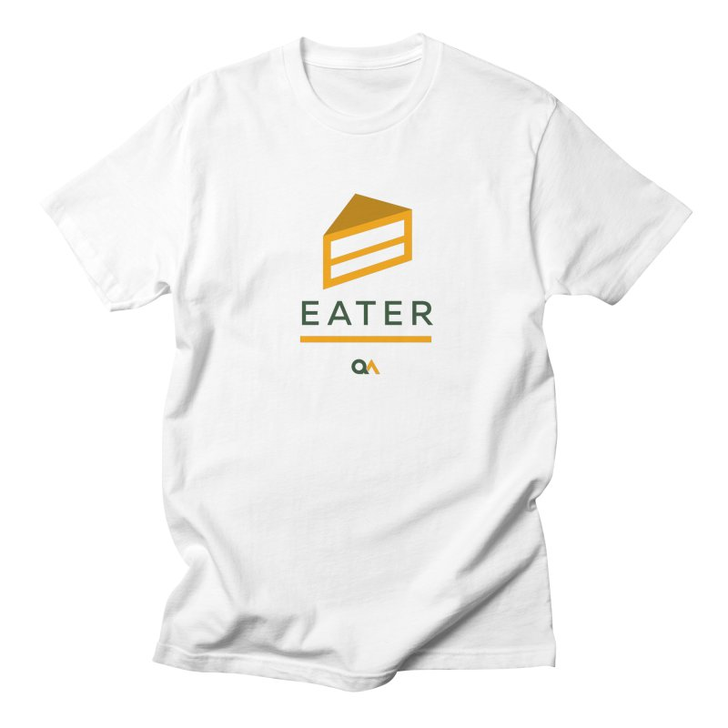 The Cake Eater | Light Men's Regular T-Shirt by The Quack Attack