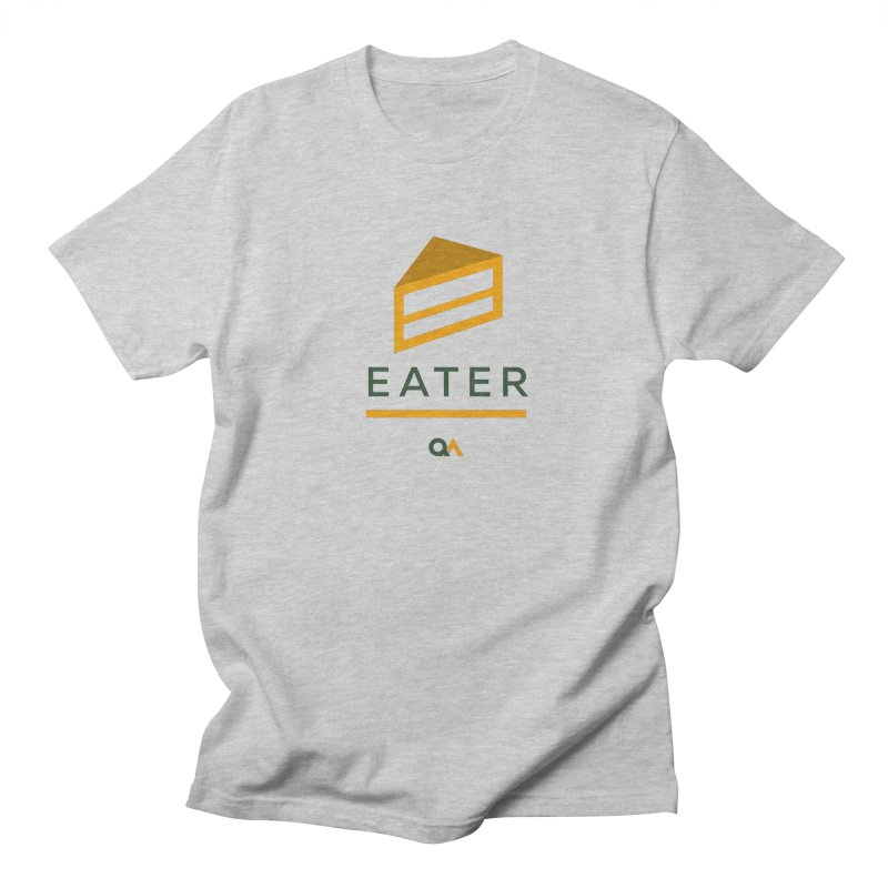 The Cake Eater | Light Men's T-Shirt by The Quack Attack