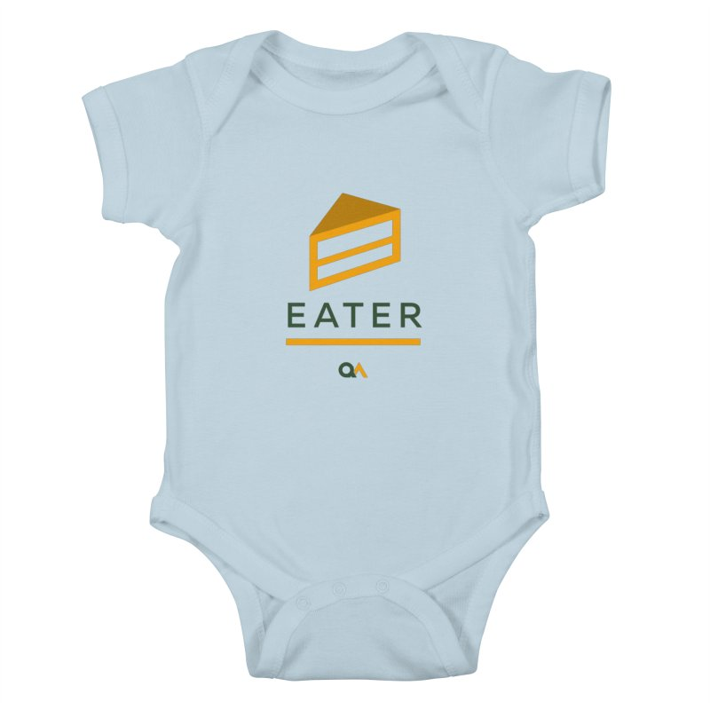 The Cake Eater | Light Kids Baby Bodysuit by The Quack Attack