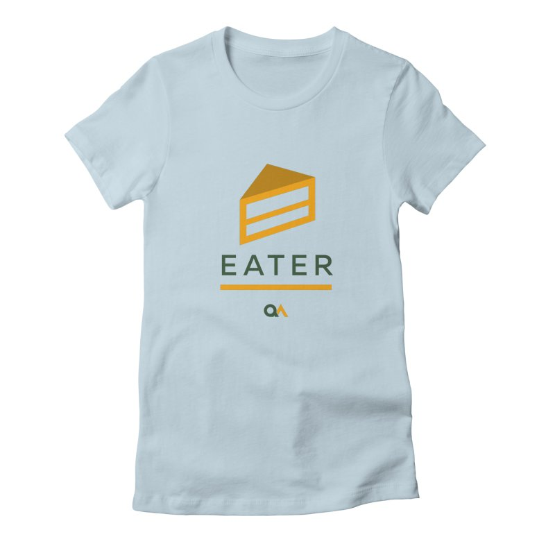 The Cake Eater | Light Women's T-Shirt by The Quack Attack