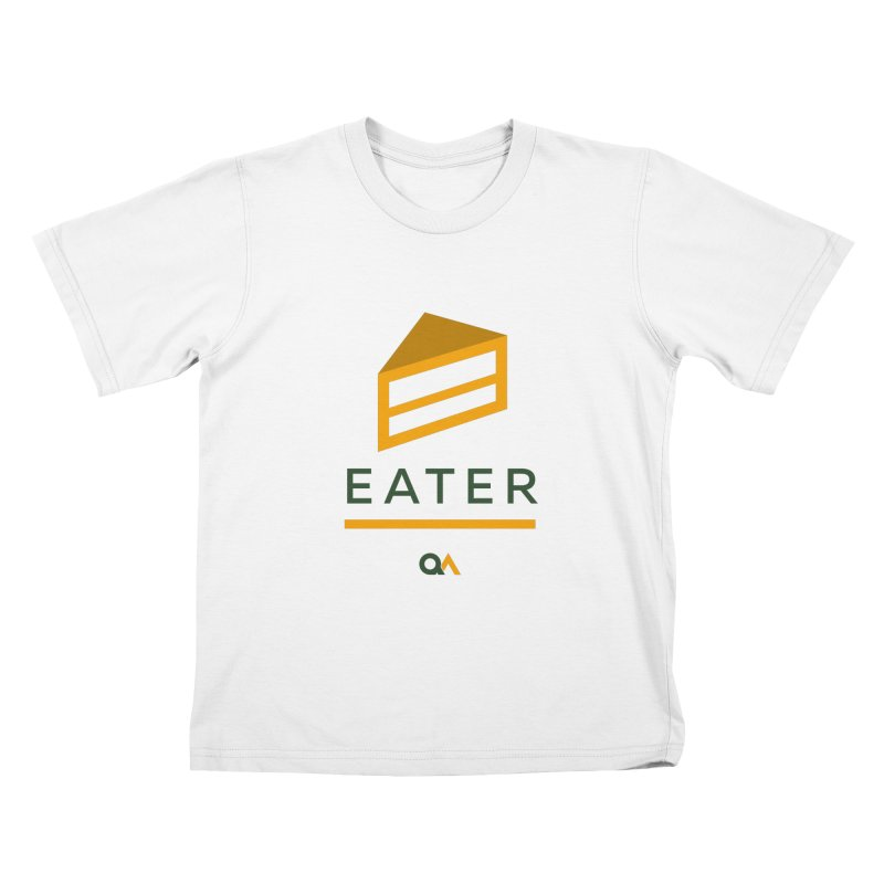 The Cake Eater | Light Kids T-Shirt by The Quack Attack