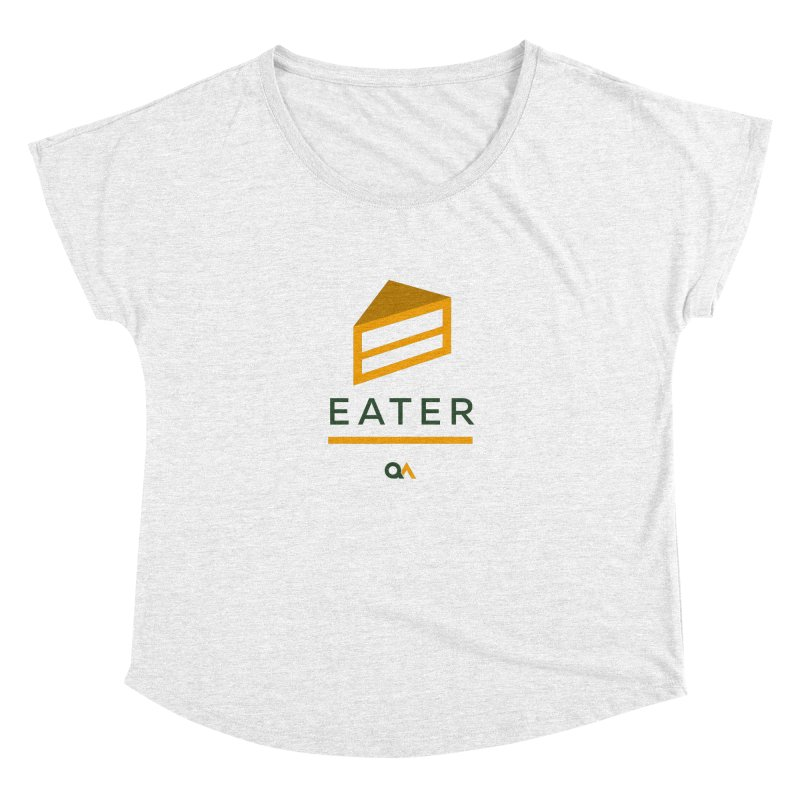The Cake Eater | Light Women's Dolman by The Quack Attack
