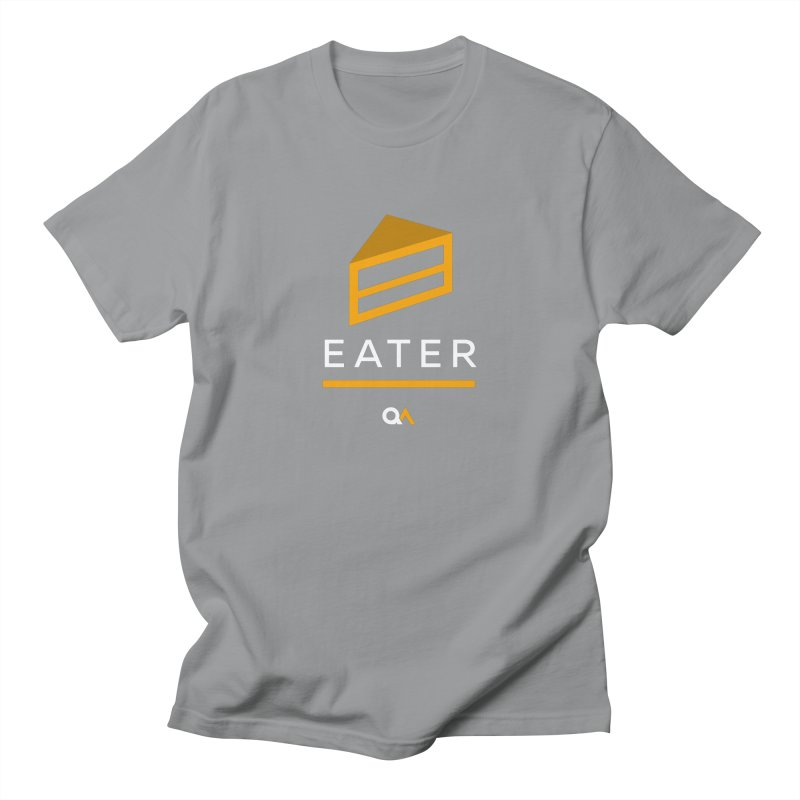 The Cake Eater   Dark Men's T-Shirt by The Quack Attack