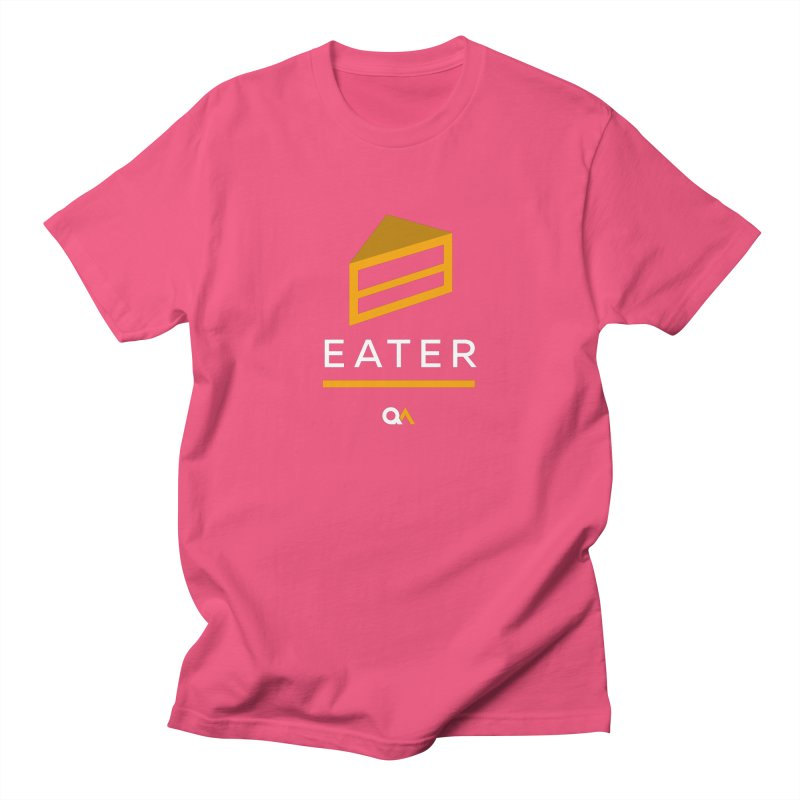 The Cake Eater | Dark Men's T-Shirt by The Quack Attack