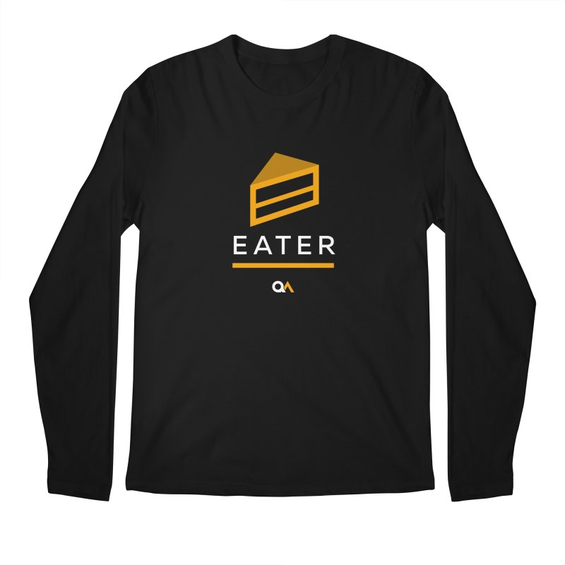 The Cake Eater | Dark Men's Longsleeve T-Shirt by The Quack Attack