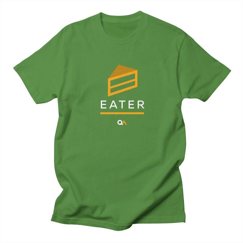 The Cake Eater | Dark Men's Regular T-Shirt by The Quack Attack