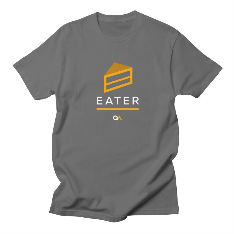 The Cake Eater | Dark Men's Regular T-Shirt by The Quack Attack