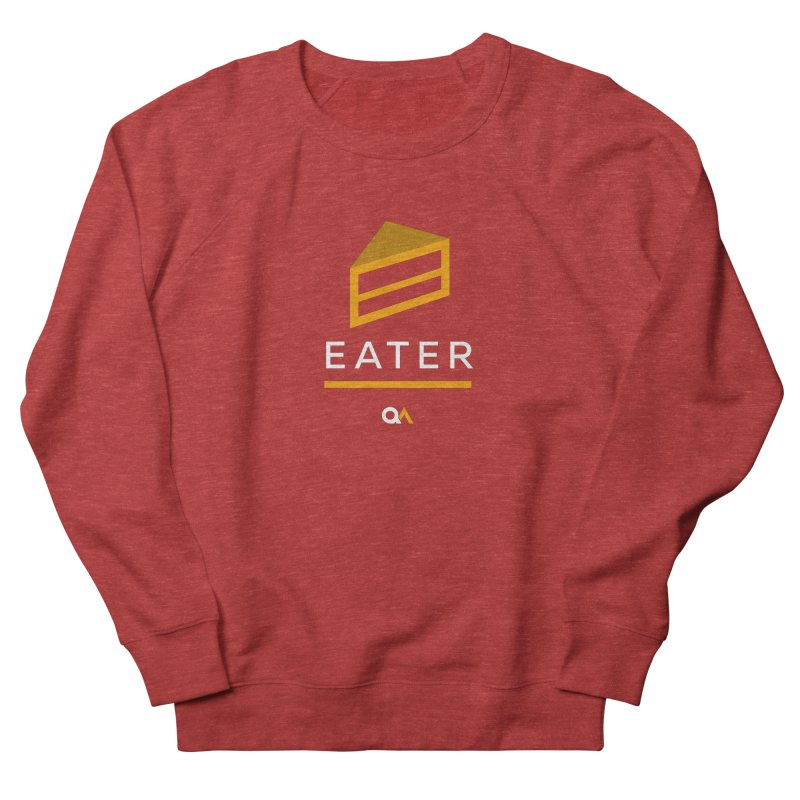The Cake Eater | Dark Women's Sweatshirt by The Quack Attack