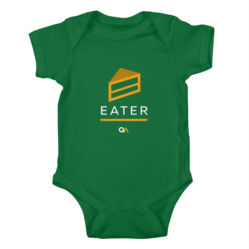 The Cake Eater | Dark Kids Baby Bodysuit by The Quack Attack