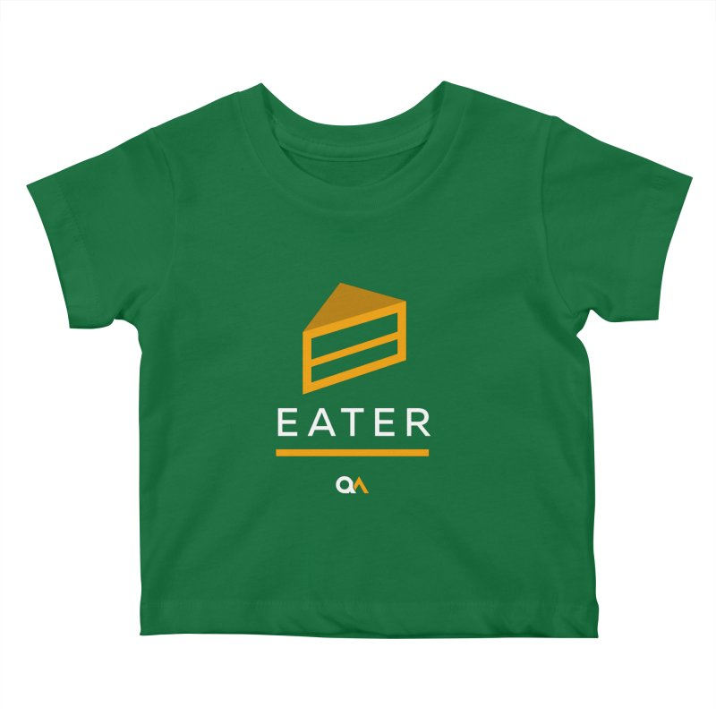 The Cake Eater | Dark Kids Baby T-Shirt by The Quack Attack
