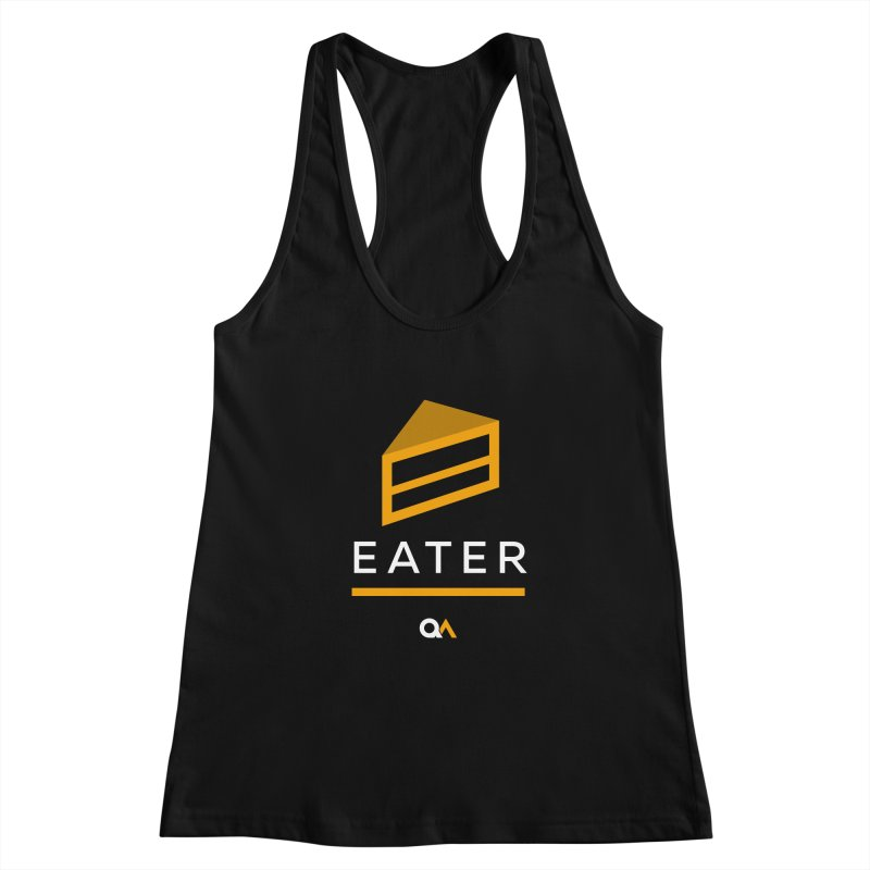 The Cake Eater   Dark Women's Tank by The Quack Attack
