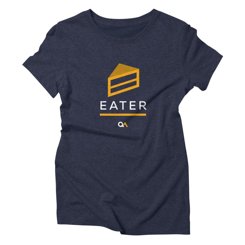 The Cake Eater | Dark Women's T-Shirt by The Quack Attack