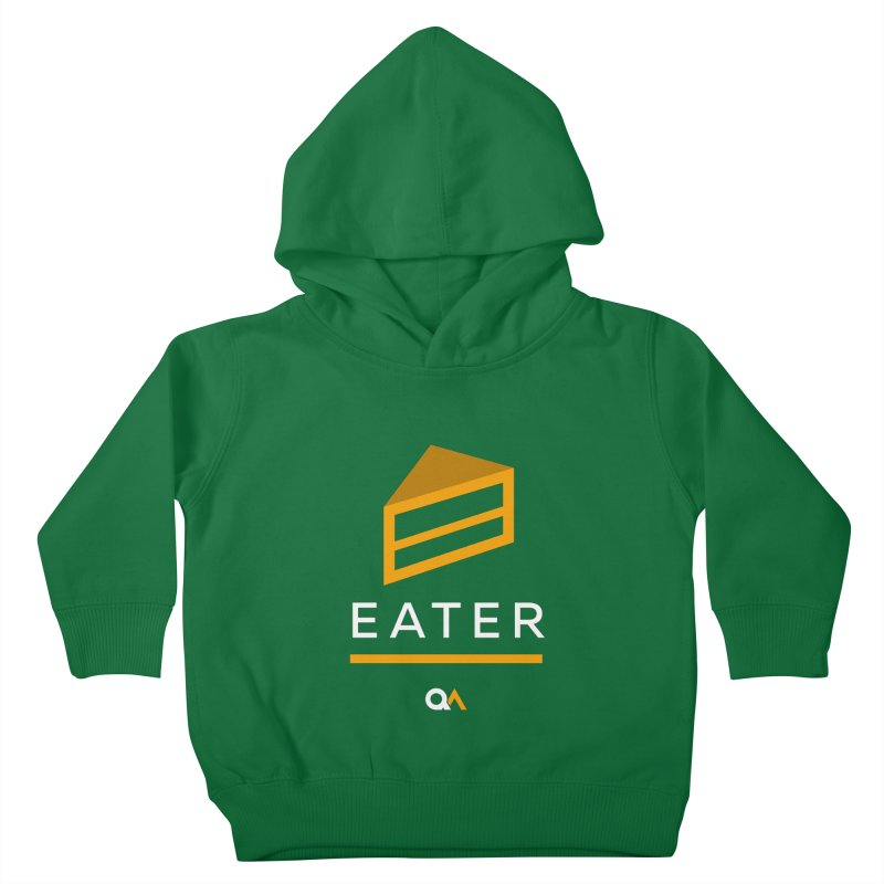 The Cake Eater | Dark Kids Toddler Pullover Hoody by The Quack Attack