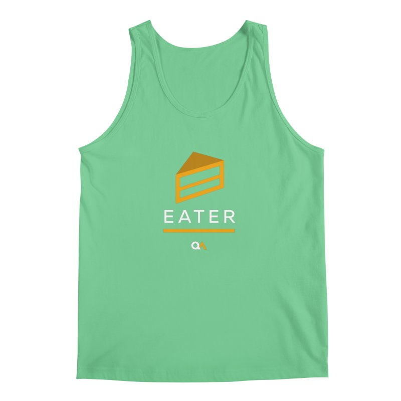 The Cake Eater | Dark Men's Tank by The Quack Attack