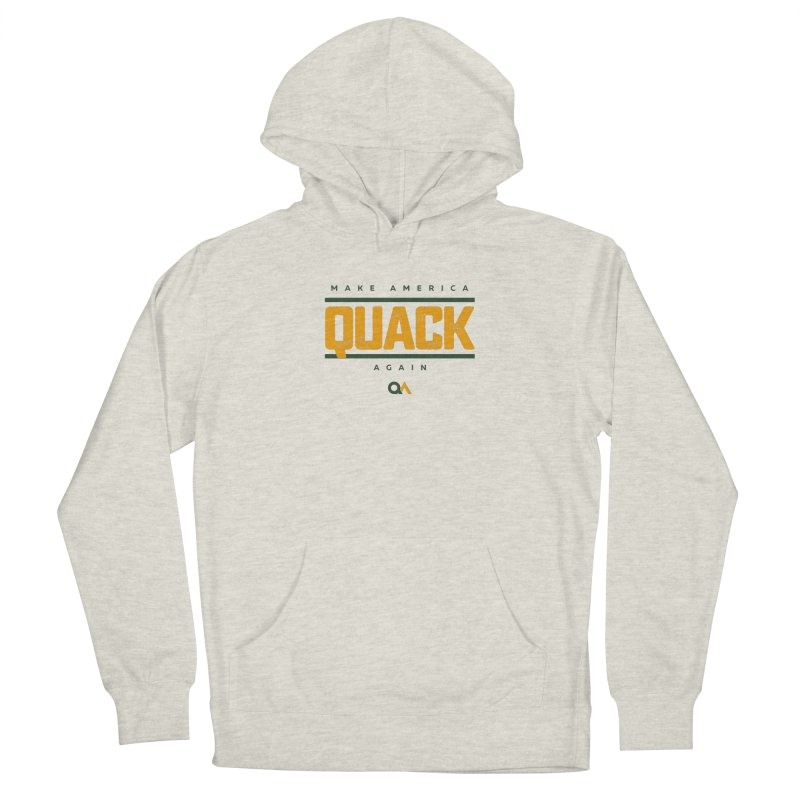 The Politician | Light Men's French Terry Pullover Hoody by The Quack Attack