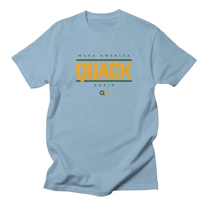 The Politician | Light Men's Regular T-Shirt by The Quack Attack
