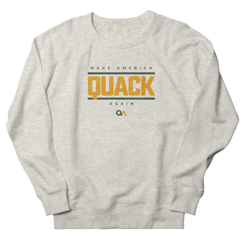 The Politician | Light Women's Sweatshirt by The Quack Attack