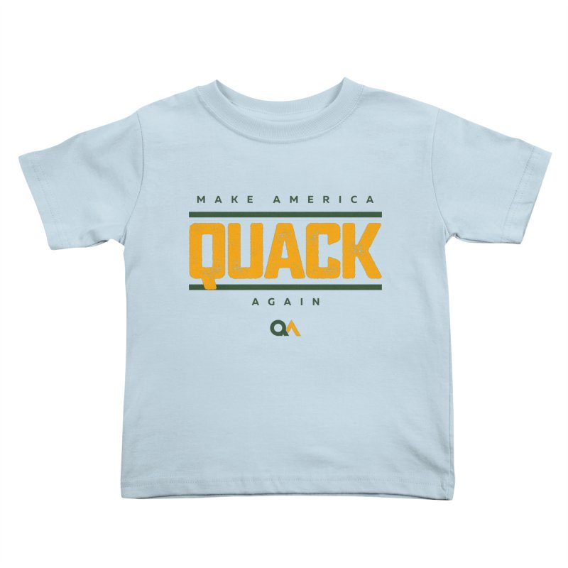 The Politician | Light Kids Toddler T-Shirt by The Quack Attack