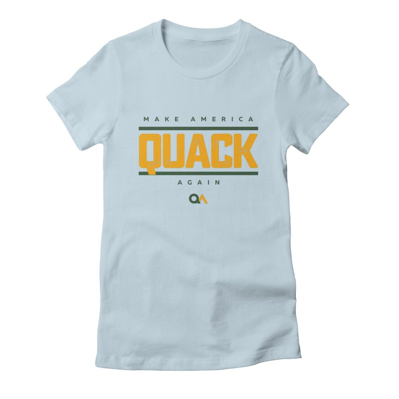 The Politician   Light Women's T-Shirt by The Quack Attack