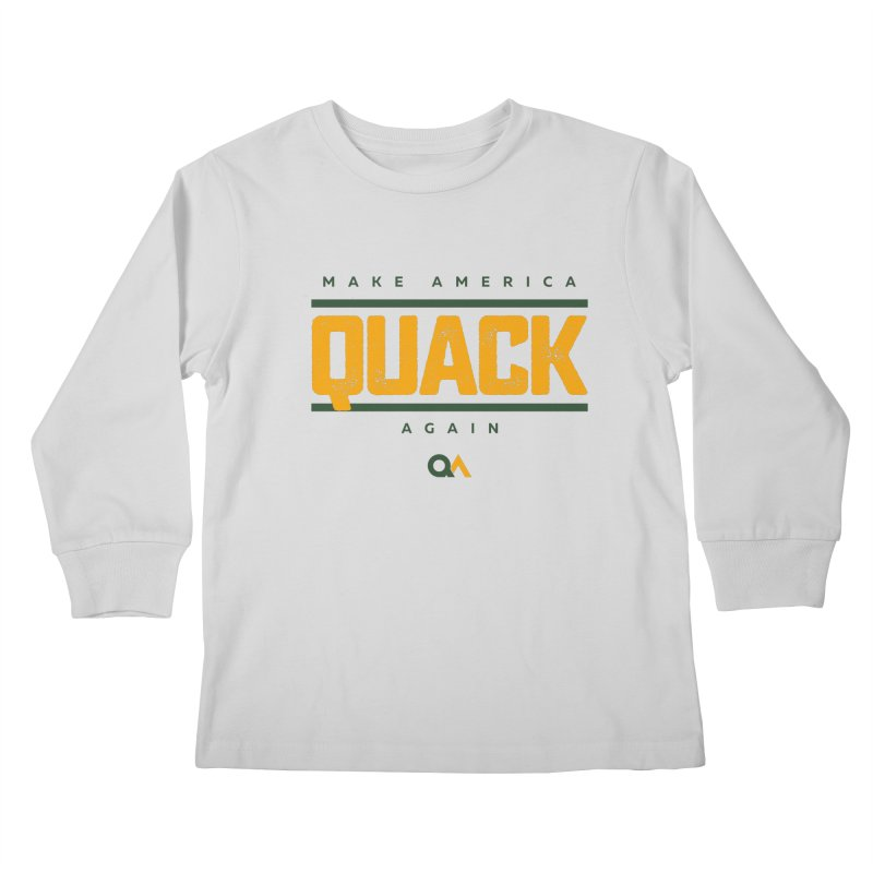 The Politician | Light Kids Longsleeve T-Shirt by The Quack Attack