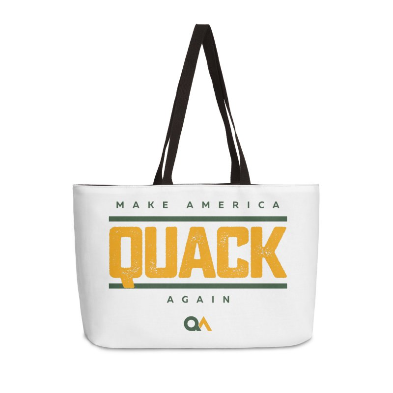 The Politician | Light Accessories Weekender Bag Bag by The Quack Attack