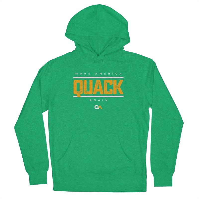 The Politician | Dark Men's Pullover Hoody by The Quack Attack