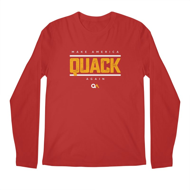 The Politician | Dark Men's Longsleeve T-Shirt by The Quack Attack