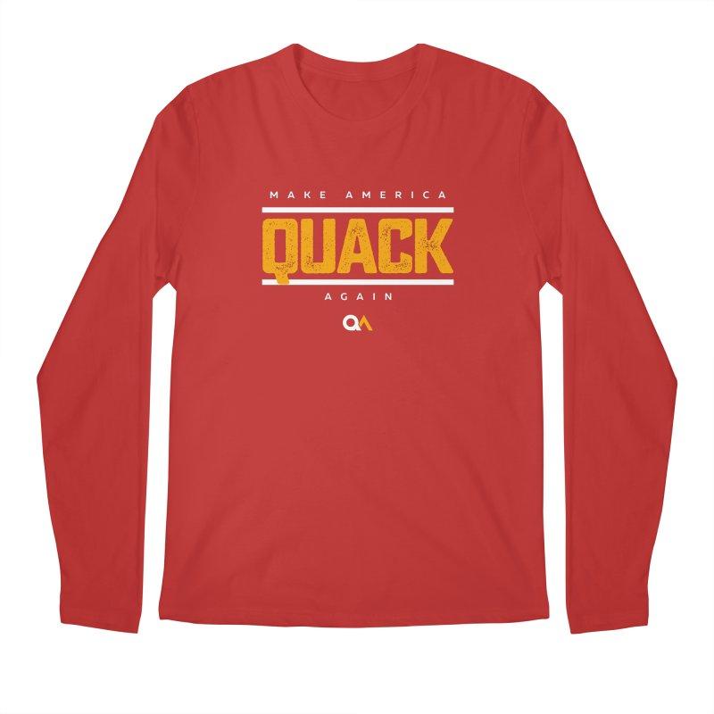 The Politician | Dark Men's Regular Longsleeve T-Shirt by The Quack Attack