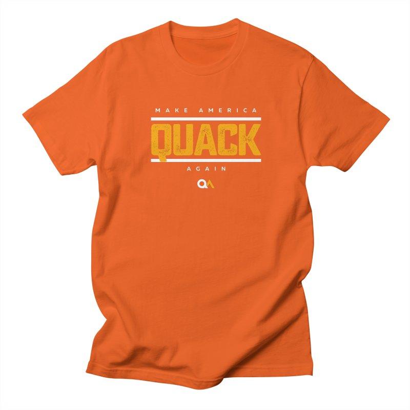 The Politician | Dark Men's Regular T-Shirt by The Quack Attack