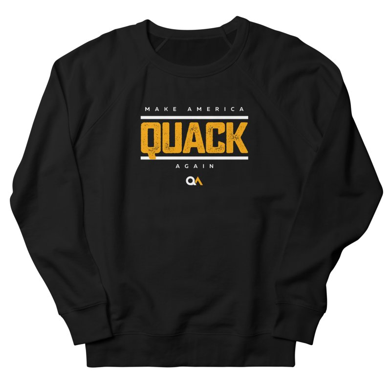 The Politician | Dark Women's Sweatshirt by The Quack Attack