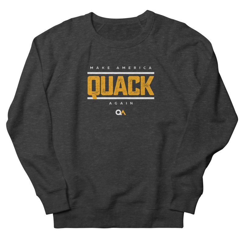 The Politician | Dark Men's Sweatshirt by The Quack Attack