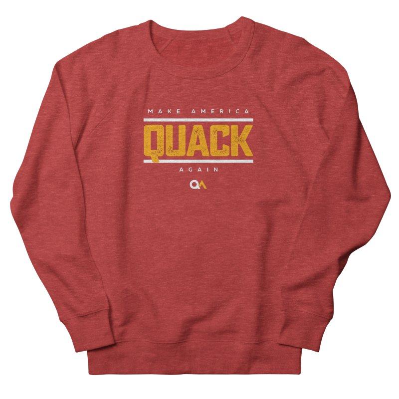 The Politician | Dark Men's Sweatshirt by The Quack Attack