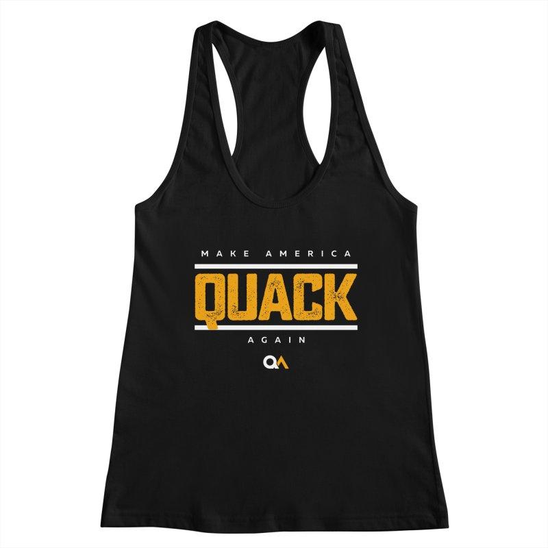 The Politician | Dark Women's Tank by The Quack Attack