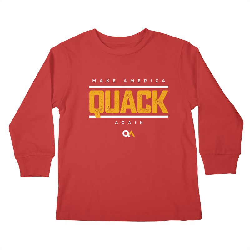 The Politician | Dark Kids Longsleeve T-Shirt by The Quack Attack