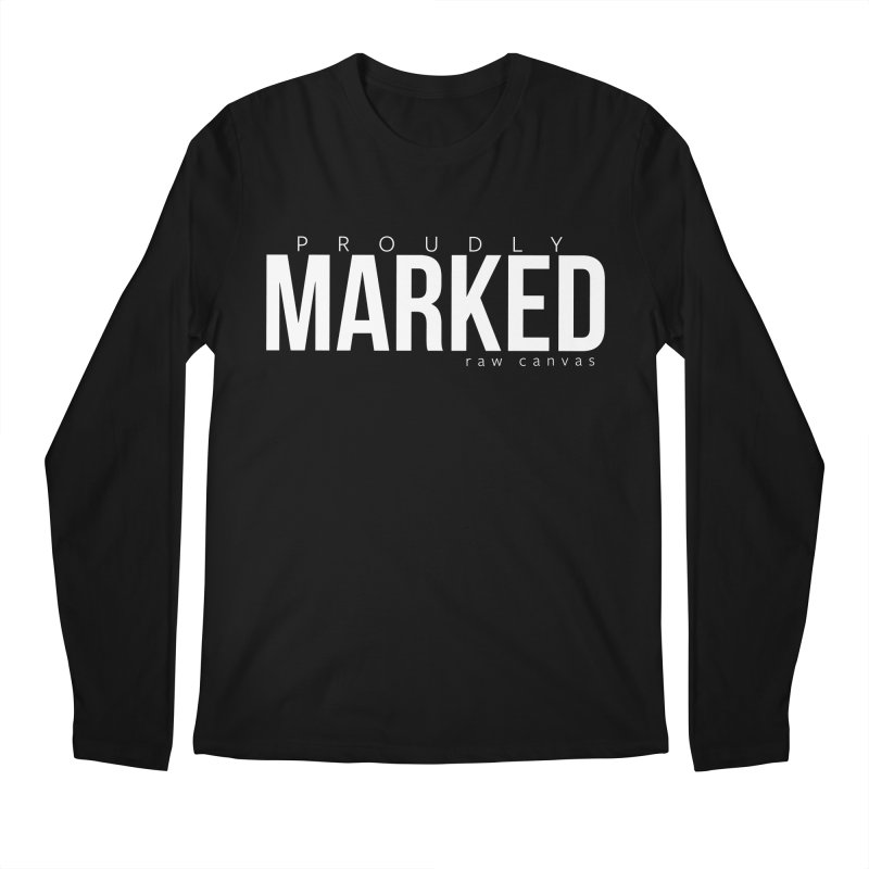 Proudly Marked Men Men's Regular Longsleeve T-Shirt by RAW: APPAREL