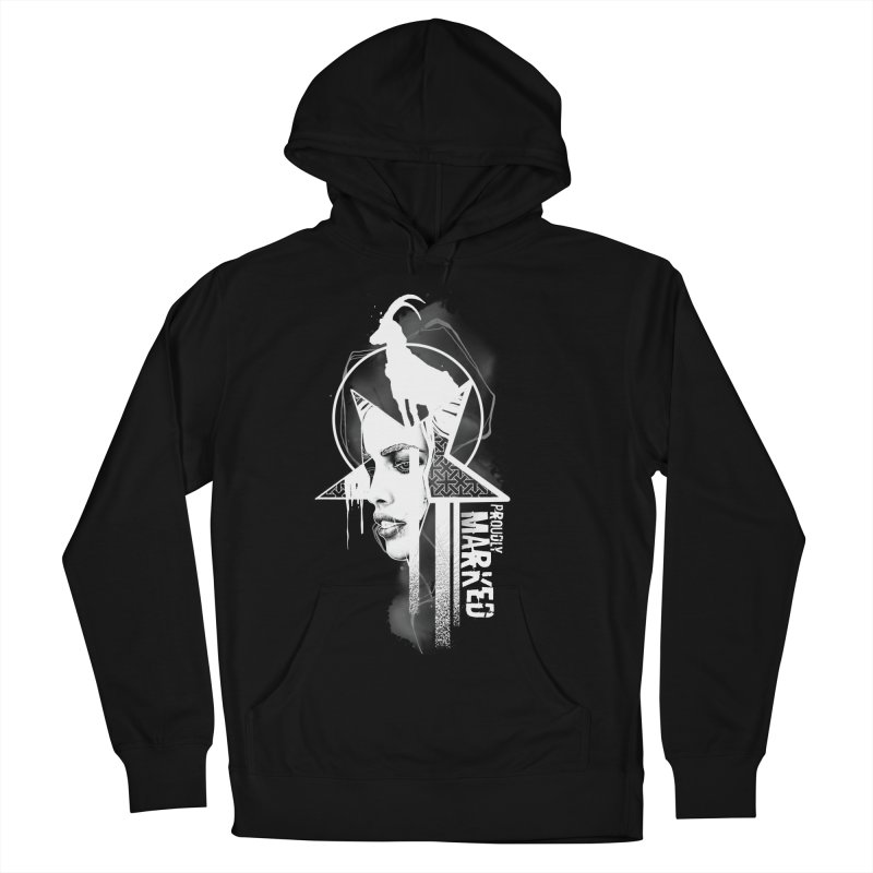 The Witch by Justin Nordine Tattoos Men's French Terry Pullover Hoody by RAW: APPAREL