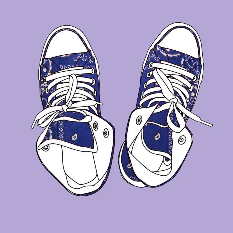 Blue Chucks by My Outside World